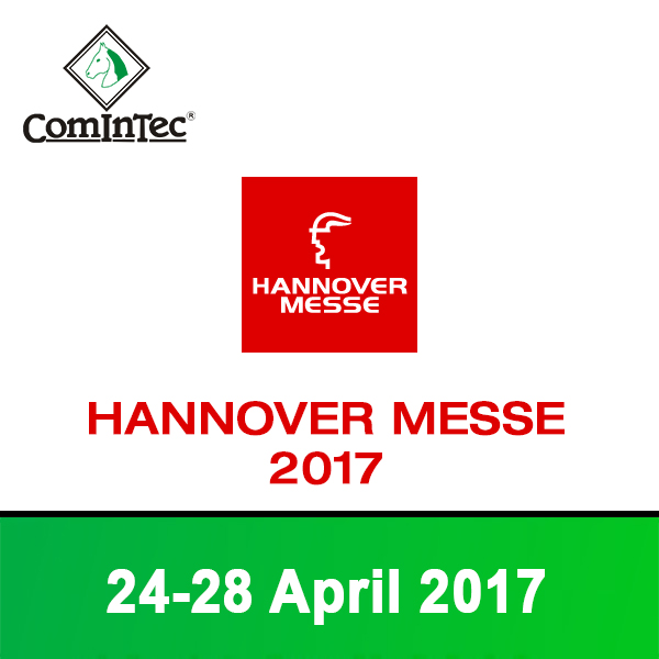 Hannover Messe 2017 - ComInTec